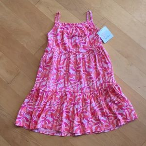 Just One You Carters Girls Pink Floral Dress NWT